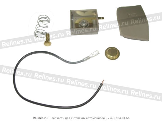 RH horn button-steering wheel