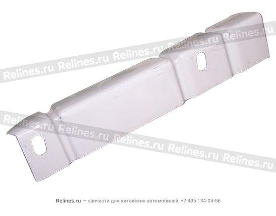 Right safety belt stiffening pl
