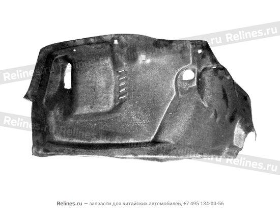 Обшивка багажника правая (черная) - A11-5101020