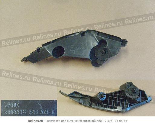 Кронштейн крепления переднего бампера правый New - 2803318-K46