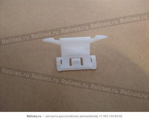 Пистон молдинга ветрового стекла (белый) - 5206205-K00