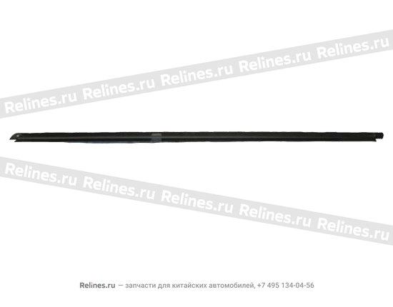 Уплотнитель стекла наружный задний правый(бархотка) - A15-5206312