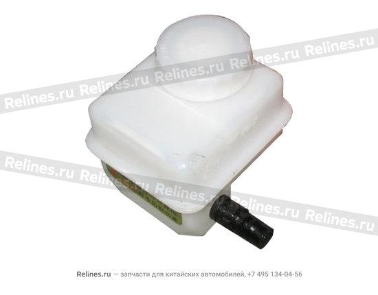 Бачок тормозной жидкости,пластиковый.,емкостью 0,3 литров