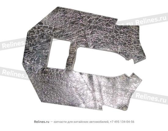 Central aisle rear cushion - A15-5110035