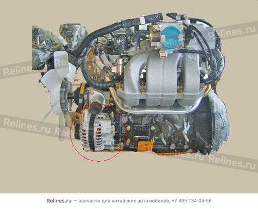 Engine assy(elec 4WD) - 1000100-E01-B11
