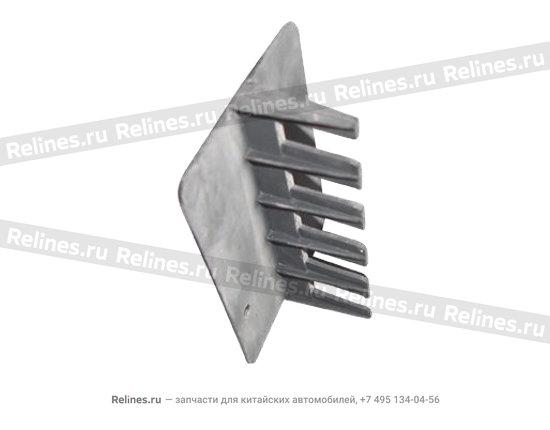 Splicing piece bracket