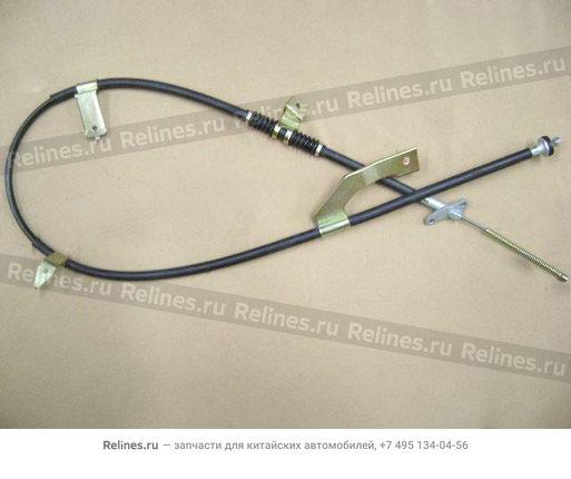 Трос стояночного тормоза задний правый - 3507180-K00
