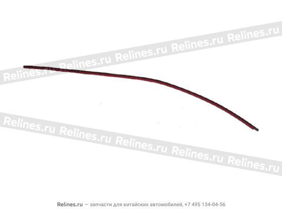 Уплотнитель лобового стекла боковой - A11-5206051