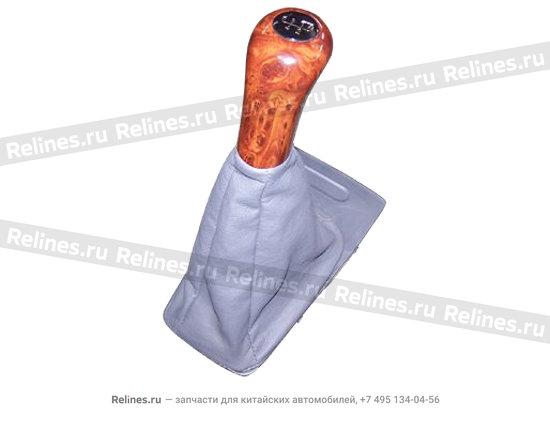Ручка КПП под дерево - A11-1703510RB