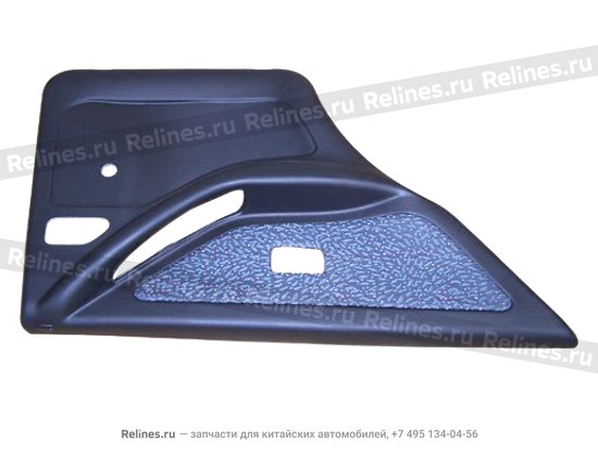 Trim assy - rear door LH - A11-6202110