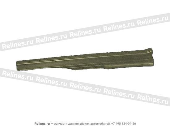Накладка порога задняя левая темно-серая - A15-5101050