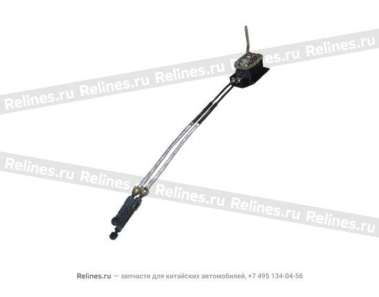 Механизм переключения передач КПП (в сборе) (ЦС) - A11-1703005BM