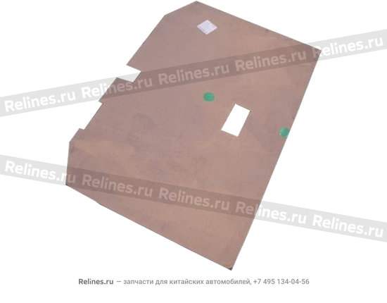 Roof sound insulating cardboard - A12-5710111