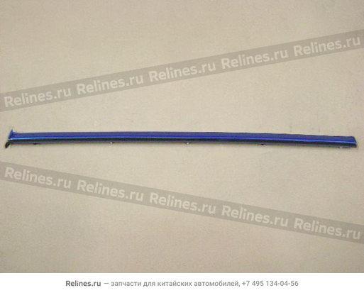 Накладка (молдинг) стекла боковины кузова правая - 5403014-K00